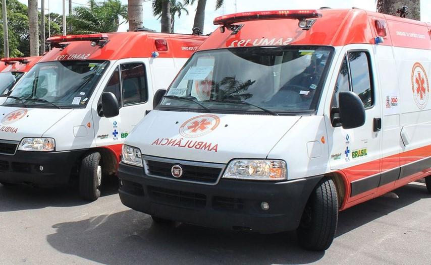 O Samu foi acionado e socorreu o suspeito para o Hospital de Trauma de João Pessoa. (Foto: Walla Santos)